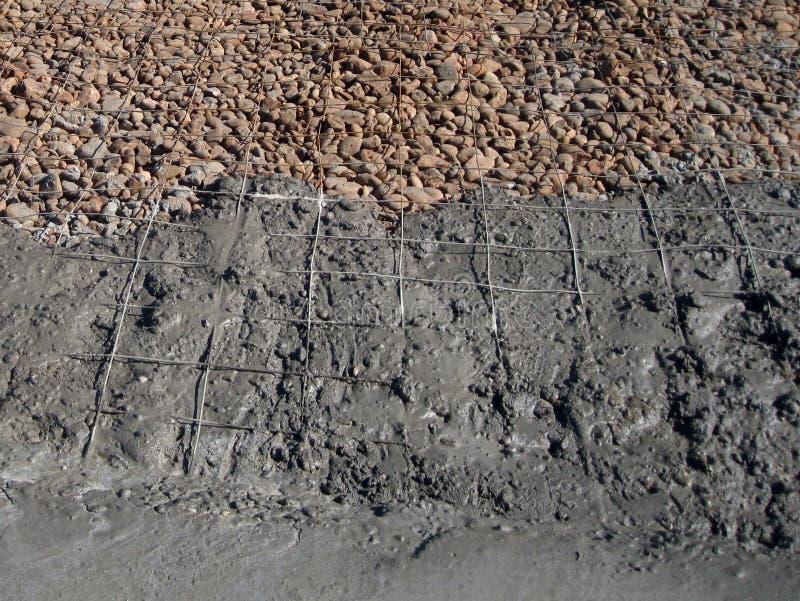Cementvåg royaltyfria bilder