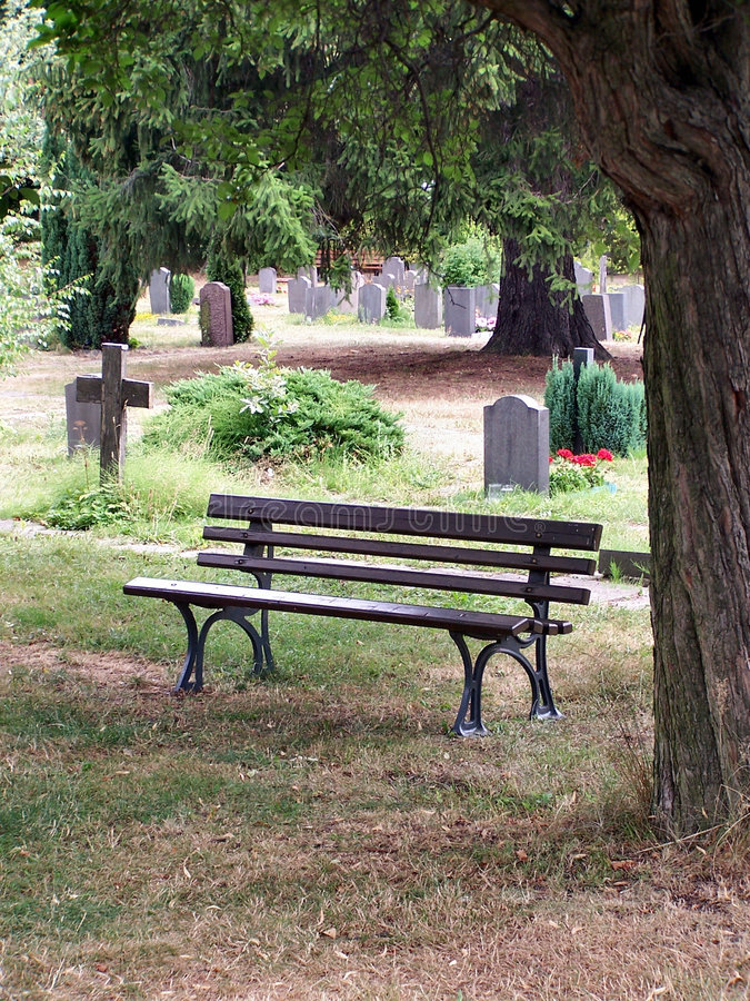 Download Cemetery stock image. Image of green, pray, bank, funeral - 1073945