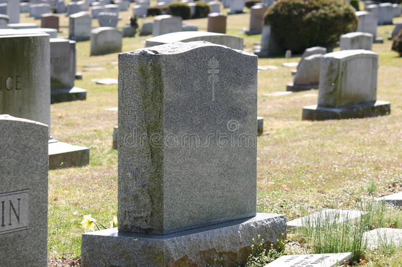 Download Cemetery stock image. Image of tomb, tombstone, buried - 24142883