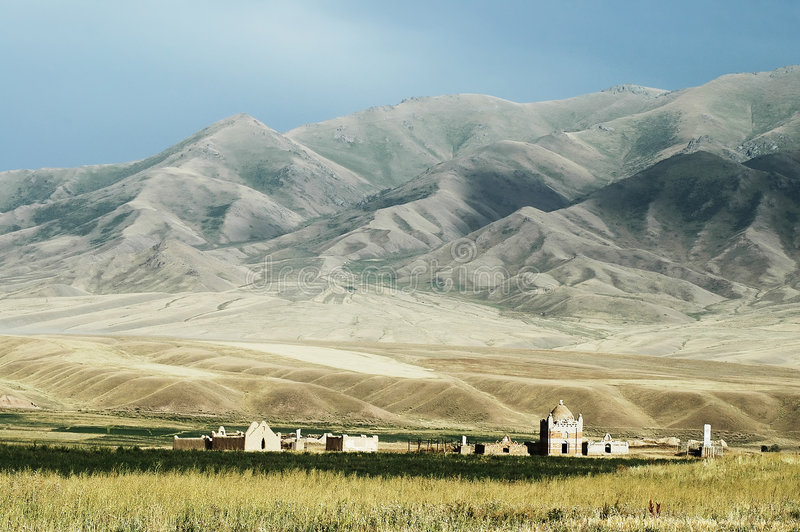Download The Cemetery stock photo. Image of high, kyrgyzstan, peak - 3679302