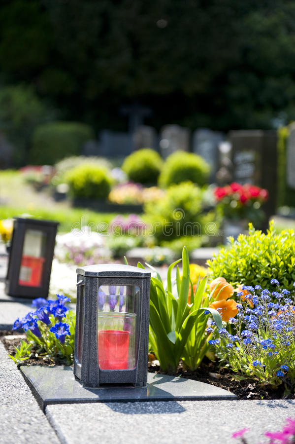 Download Cemetery in Germany stock photo. Image of flowers, germany - 13124306