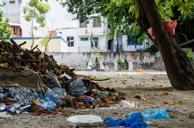 Cemetery at Maldives royalty free stock photos
