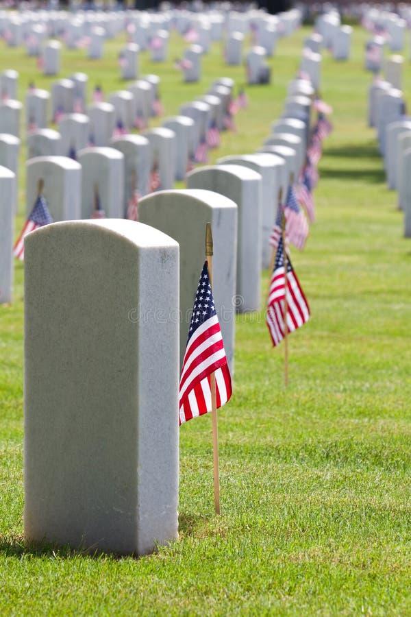 Download Cemetery Memorial Day stock photo. Image of fallen, headstones - 31370960