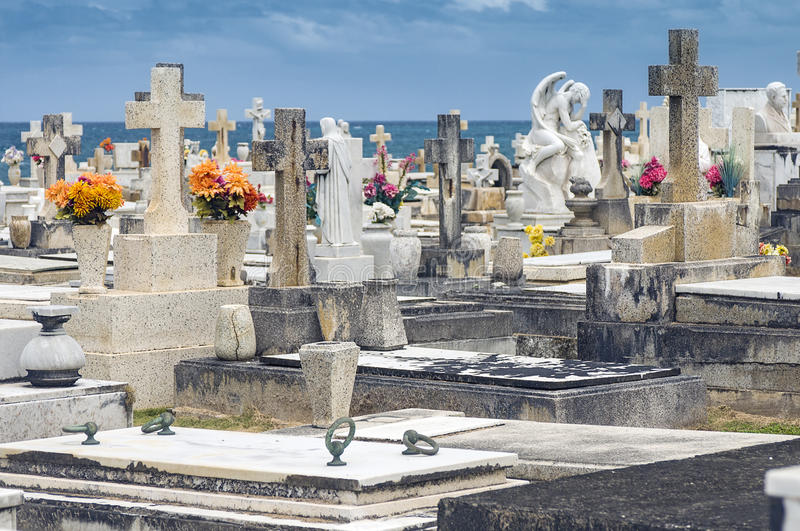 Cemetery by the Ocean