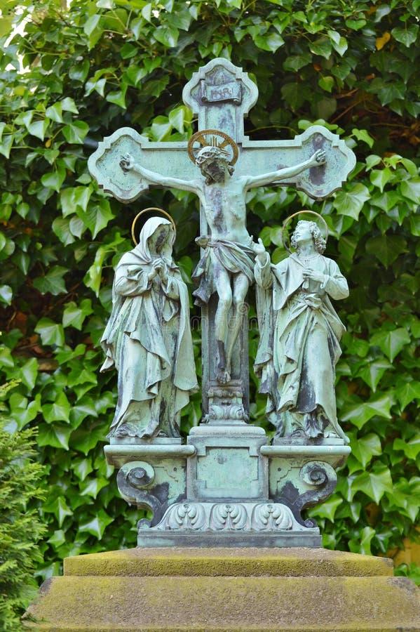 Cemetery, Statue, Grave, Sculpture stock images