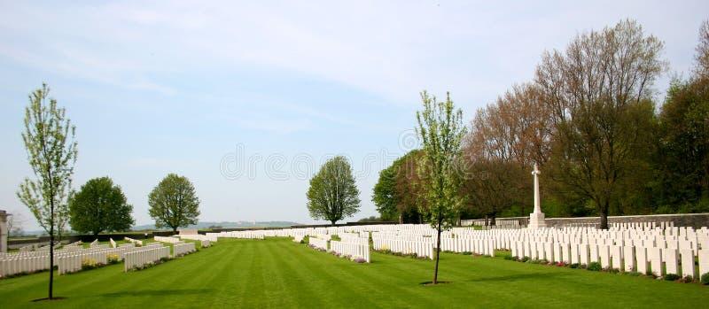 Download Cemetery at Vimy Ridge stock image. Image of headstones - 15690661