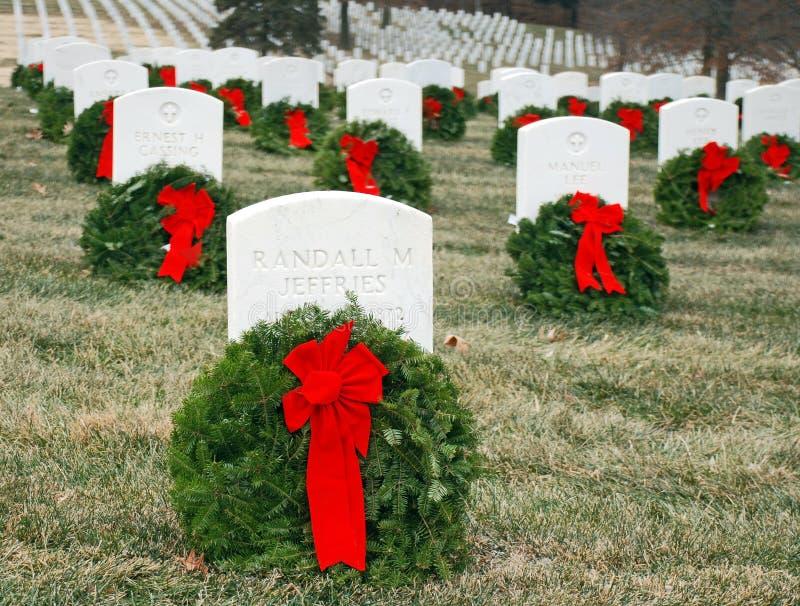 Cemitério 3 do veterano imagens de stock