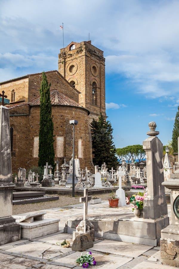 Cemitério da porta santamente um cemitério monumental situado dentro do bastião fortificado do imagens de stock royalty free