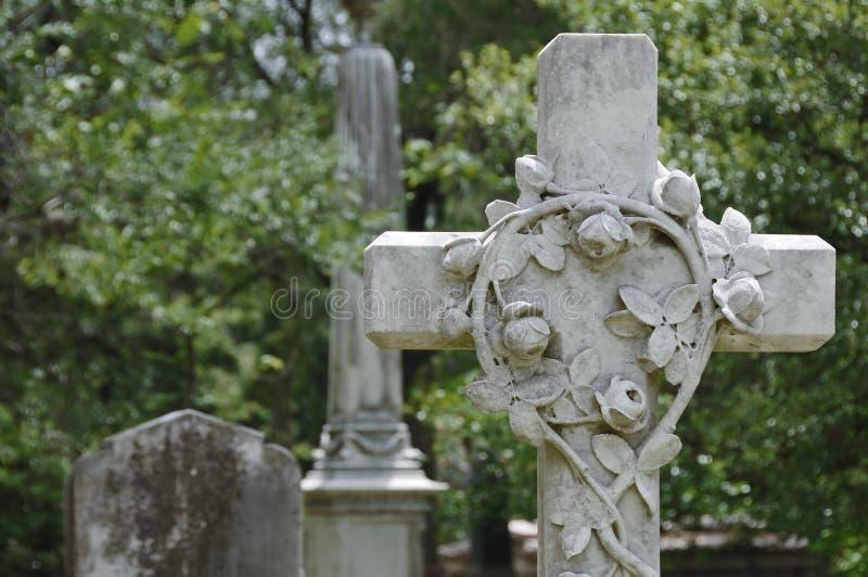 Cemitério de Glenwood foto de stock