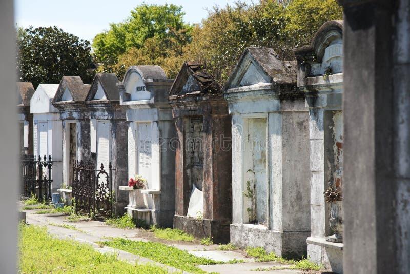 Cemitério de Lafayette imagens de stock