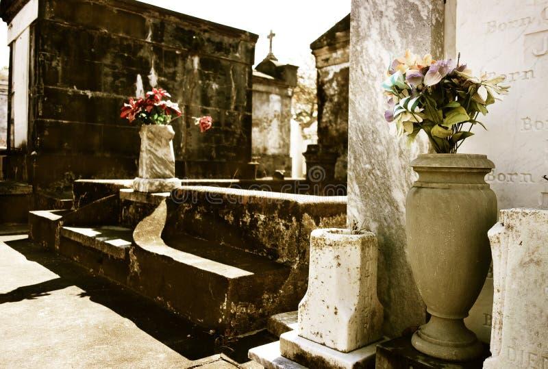 Cemitério de Lafayette em Nova Orleães imagens de stock