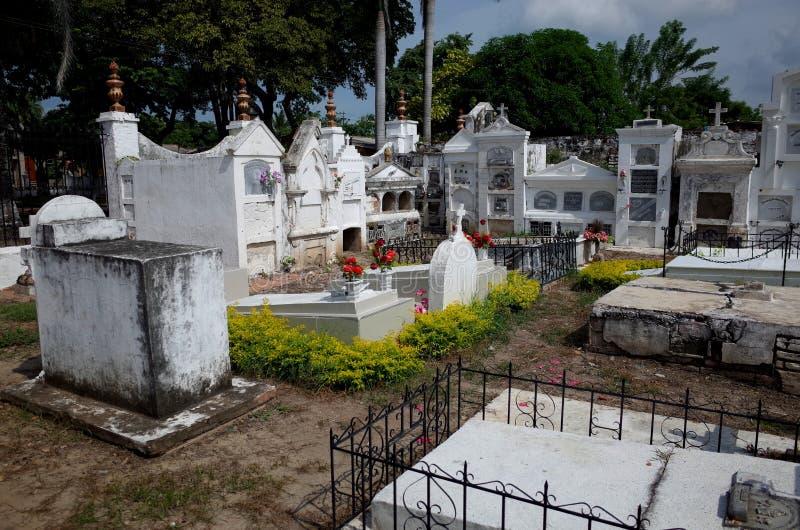 Cemitério de Mompox imagens de stock