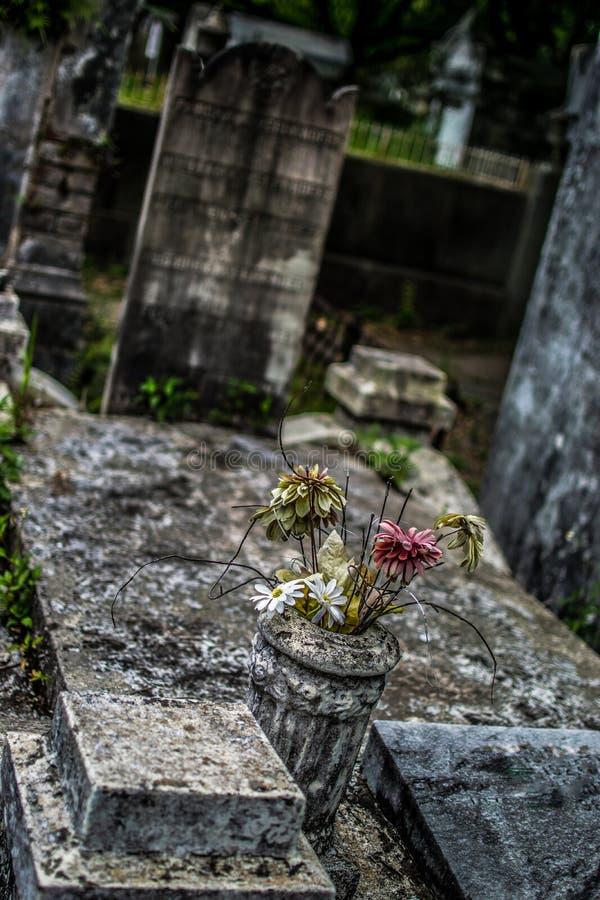 Cemitério de Nova Orleães Lafayette fotografia de stock