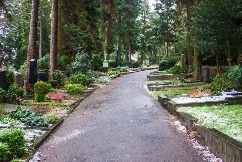 Cemitério de Poppelsdorf fotos de stock