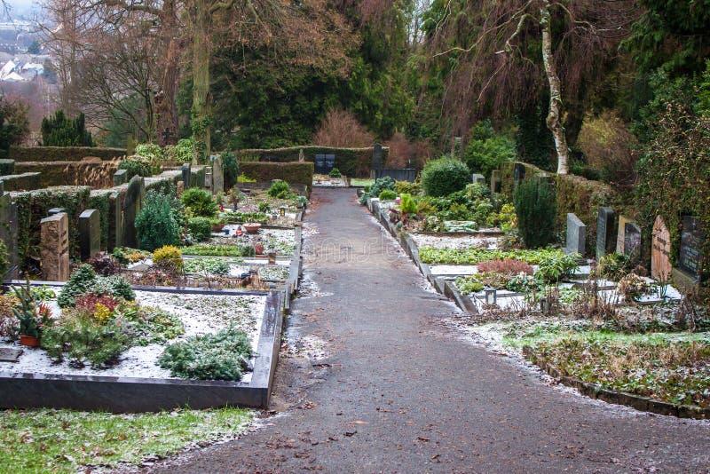 Cemitério de Poppelsdorf imagem de stock royalty free