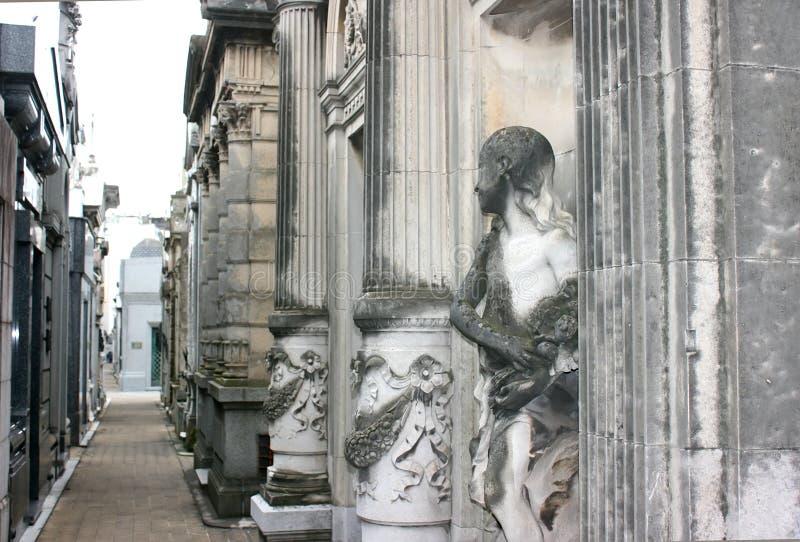 Cemitério de Recoleta fotos de stock royalty free
