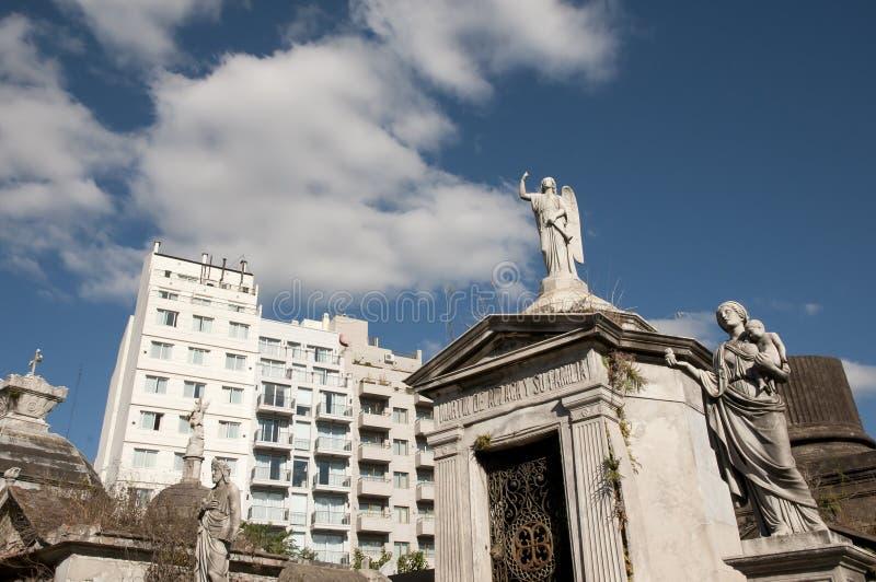 Cemitério de Recoleta - Buenos Aires - Argentina imagens de stock