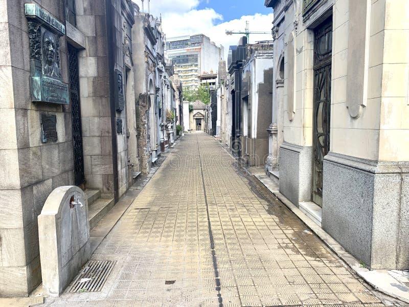 Cemitério de Recoleta fotos de stock
