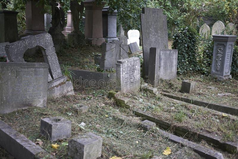 Cemitério do parque de Abney fotos de stock royalty free