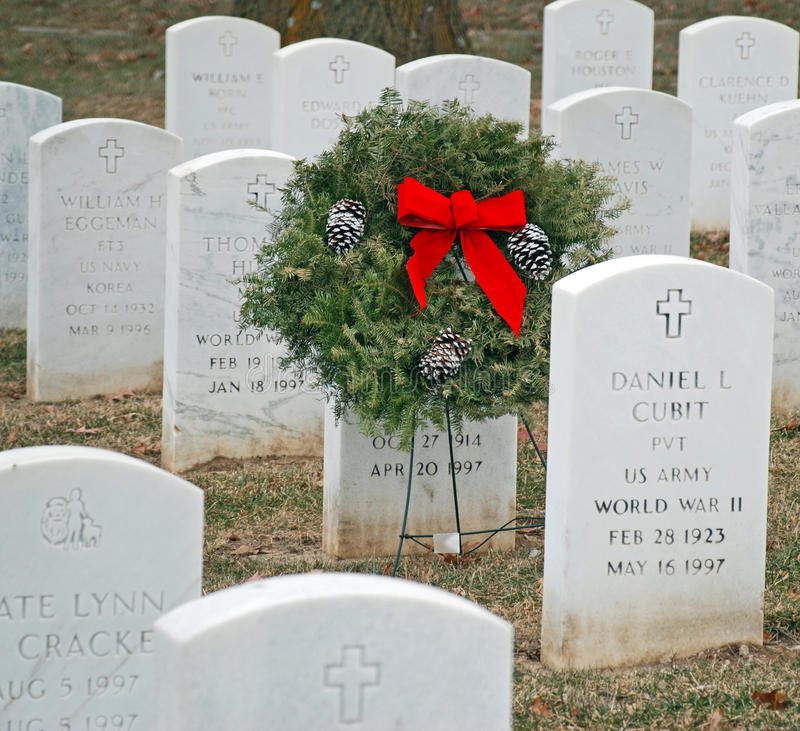 Cemitério do veterano imagem de stock royalty free