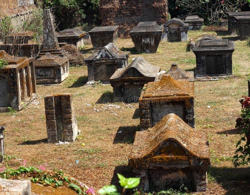 Cemitério holandês imagens de stock