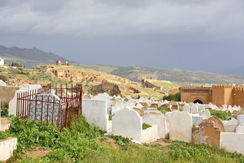 Cemitério muçulmano fotos de stock royalty free
