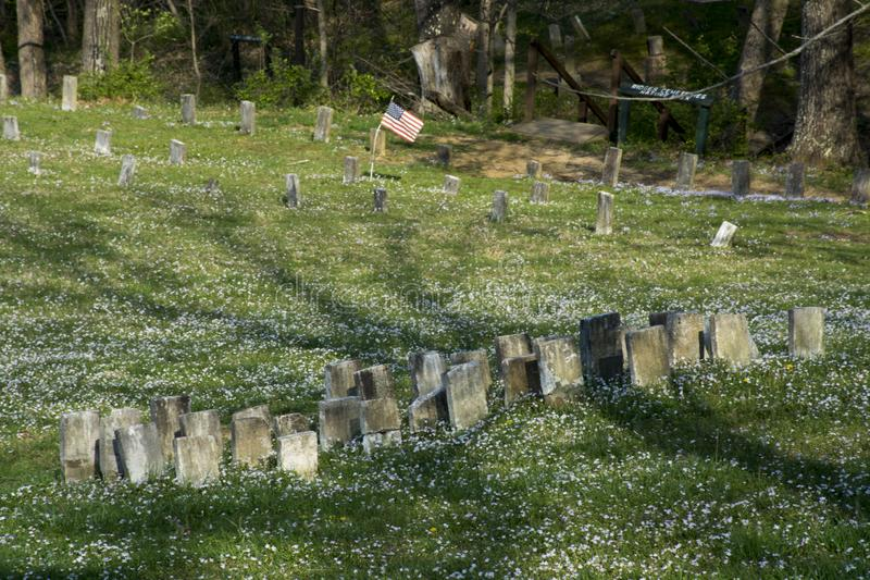 Cemitério no hospital mental fotos de stock royalty free