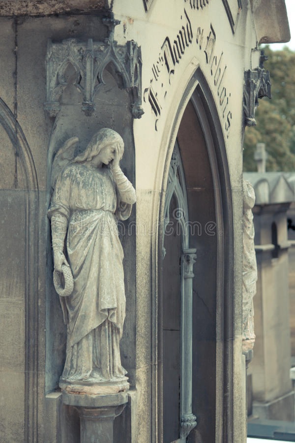 Cemitério Pere Lachaise imagem de stock