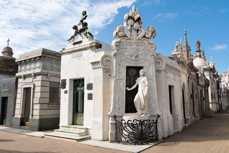 Cemitério Recoleta, Buenos Aires Argentina fotos de stock royalty free