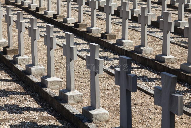 Cemitérios aliados fotografia de stock