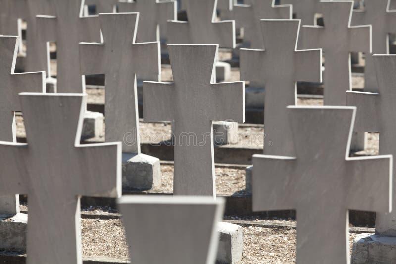 Cemitérios aliados imagens de stock royalty free
