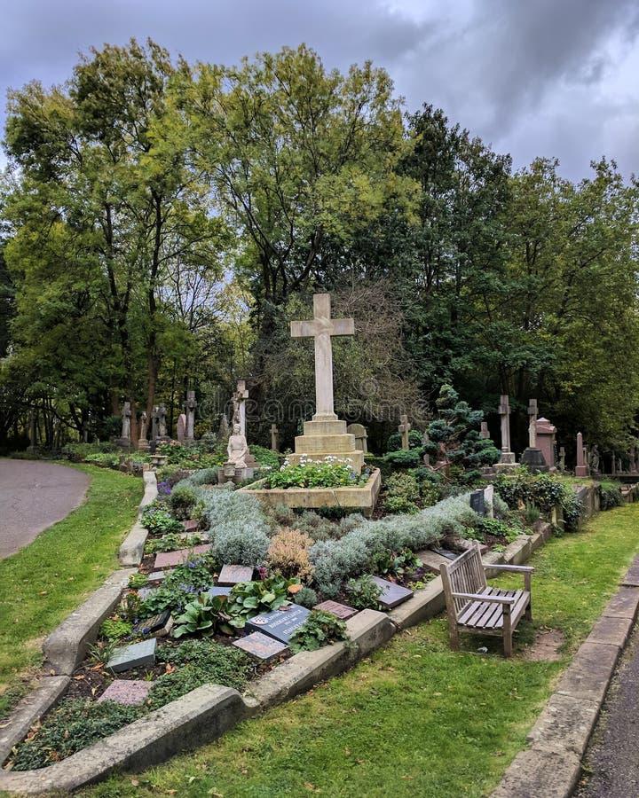 Cemitery obrazy stock
