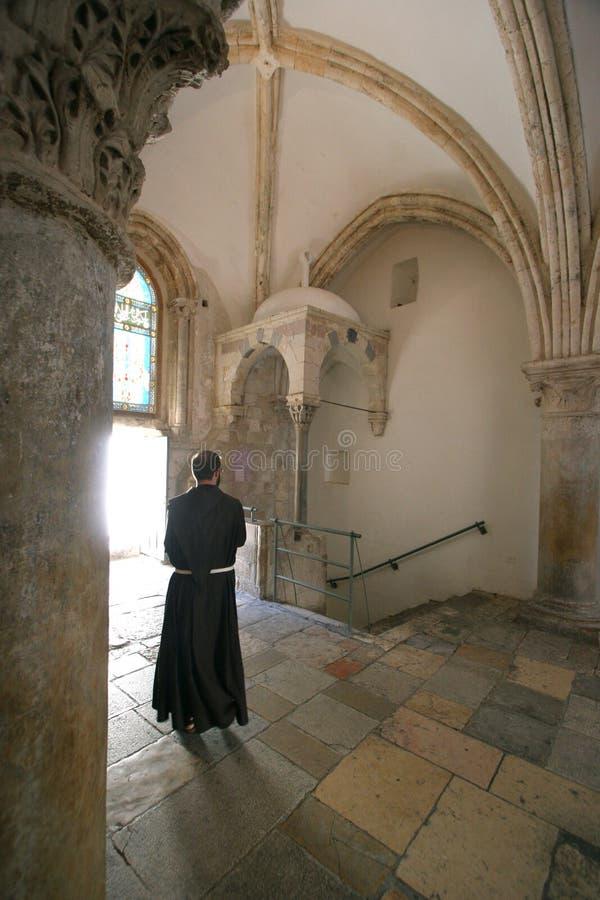 Cenáculo, Jerusalén imágenes de archivo libres de regalías