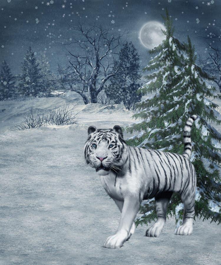 Cenário 30 do inverno ilustração stock