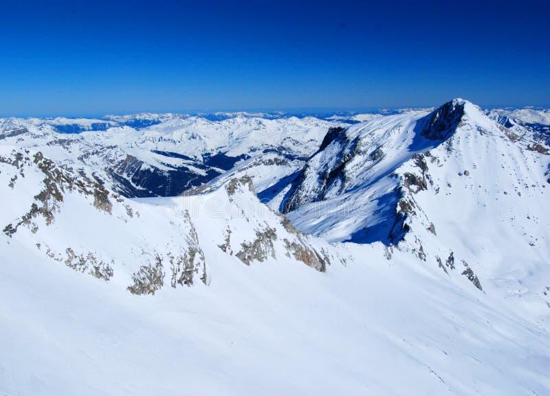 Cenário austríaco dos alpes fotos de stock royalty free