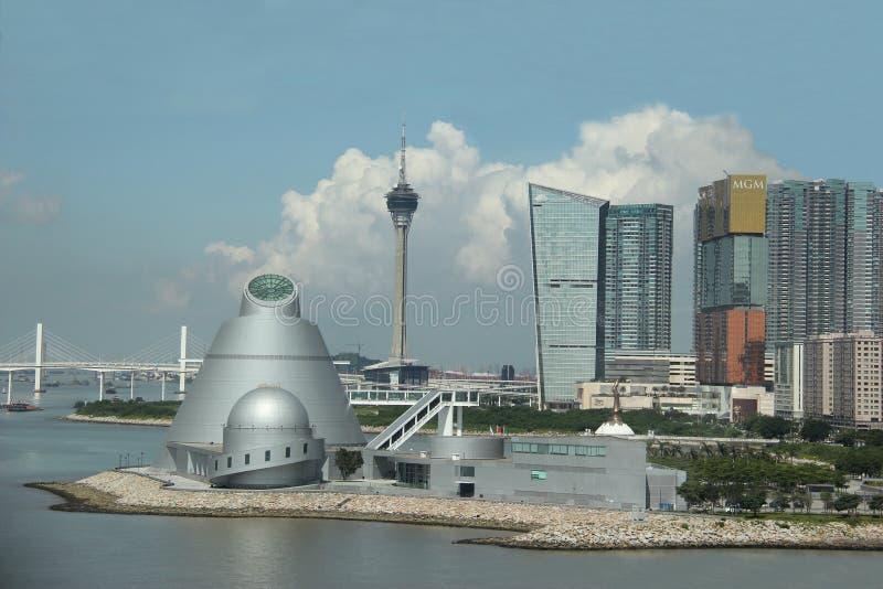 Cenário bonito de Macau foto de stock royalty free