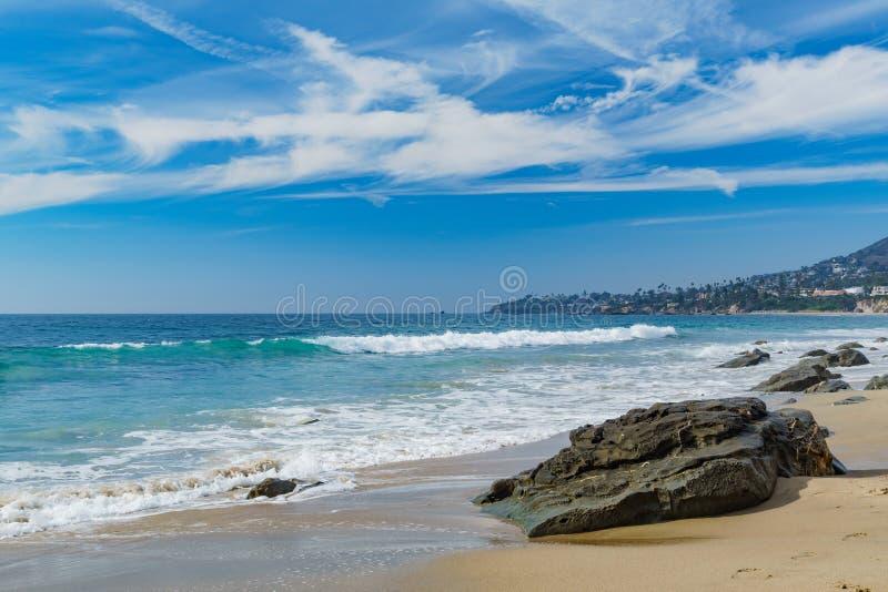 Cenário bonito em torno do Laguna Beach fotografia de stock royalty free