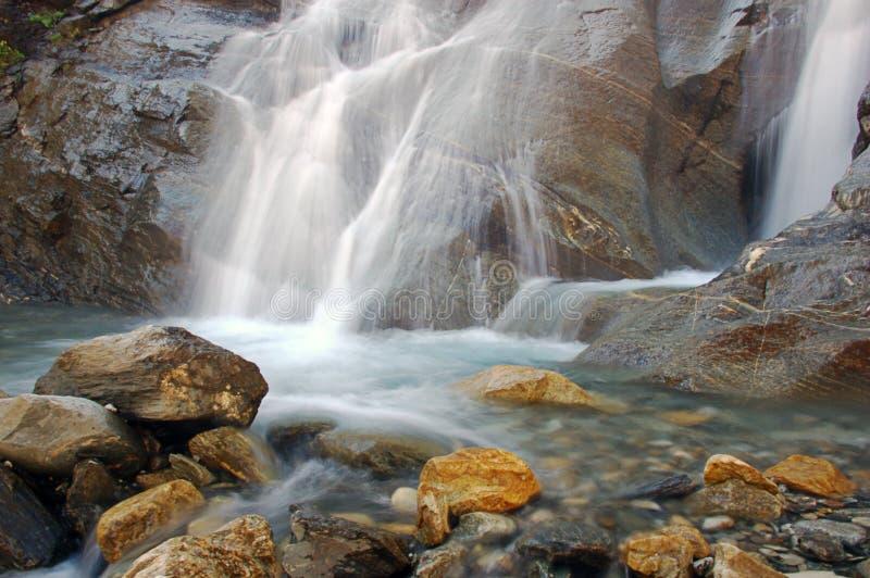 Cenário da cachoeira imagem de stock