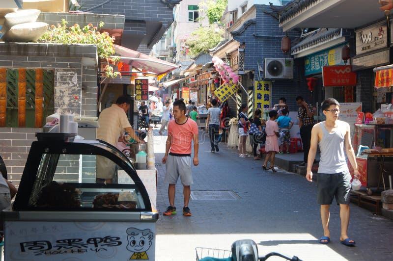 Cenário da cidade antiga de Nantou fotos de stock royalty free
