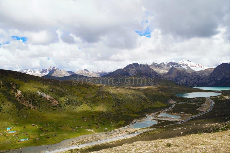 Cenário de China Tibet imagens de stock