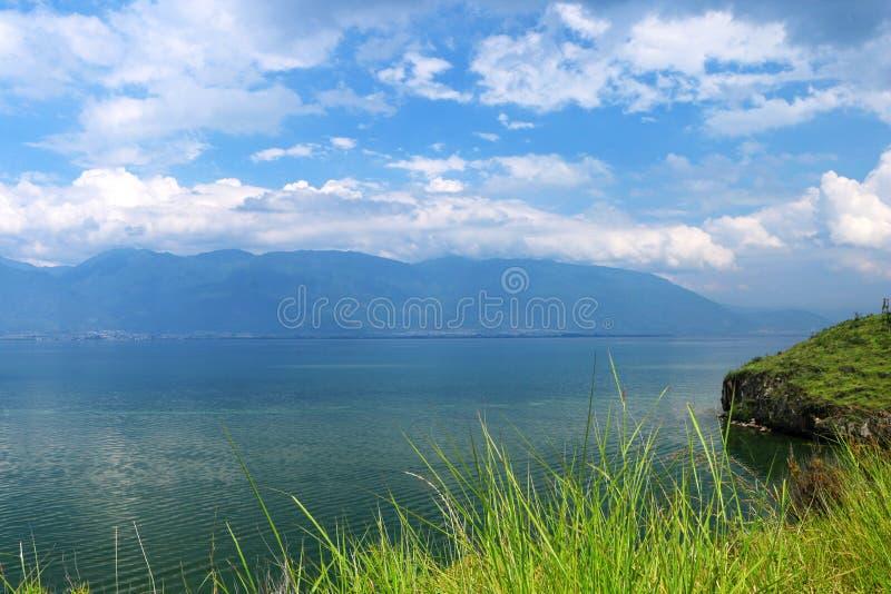 Cenário de Dali Erhai em Yunnan, China fotografia de stock