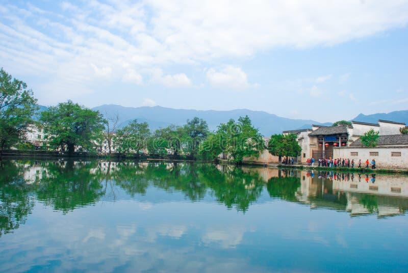 Cenário de Huangshan da montagem de China imagens de stock royalty free