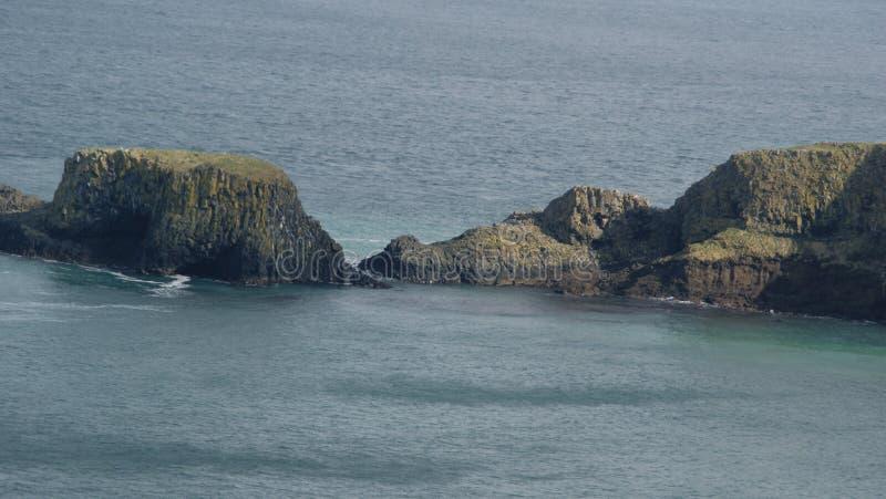 Cenário de Oceano Atlântico de Irlanda do Norte fotografia de stock royalty free