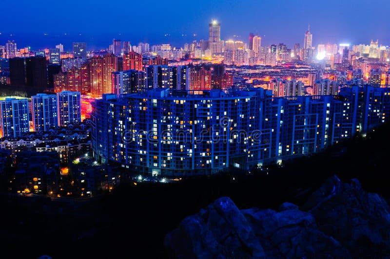 Cenário de Qingdao foto de stock