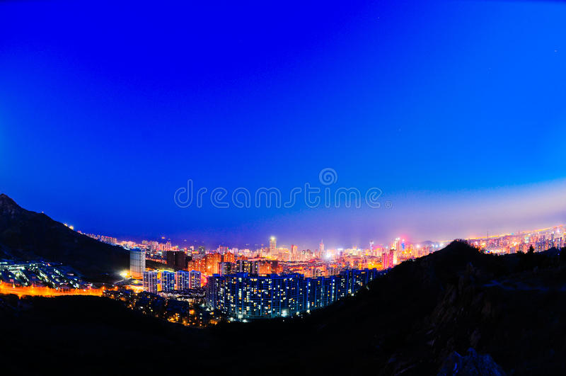Cenário de Qingdao imagem de stock