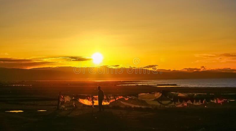 Cenário de Qinghai fotografia de stock royalty free