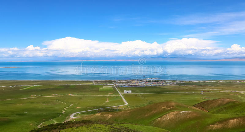 Cenário de Qinghai fotos de stock