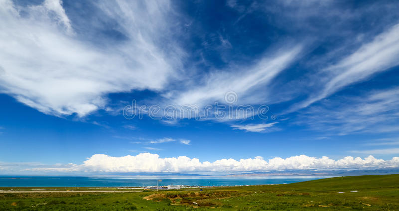 Cenário de Qinghai foto de stock royalty free