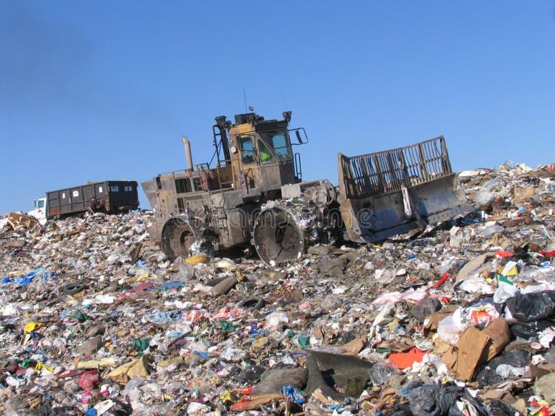 Cenário de Scrapyard foto de stock