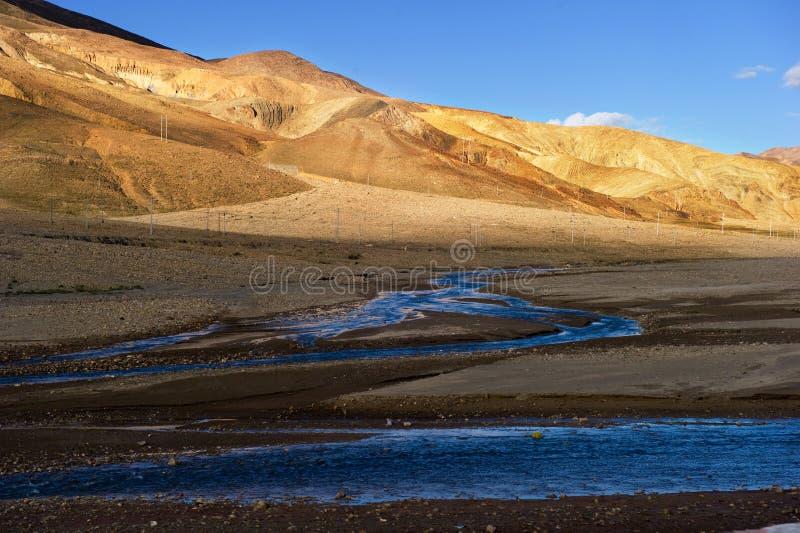 Cenário de Tibet de China imagens de stock